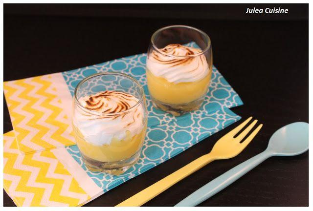 Julea Cuisine - Ma petite cuisine au quotidien: Verrine Lemon Curd merringué - [Version classique ...