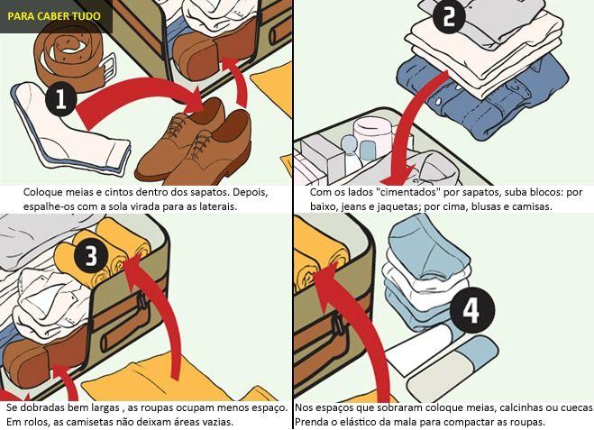 como organizar fazer a mala de viagem - Imagem: Viva o Luxo by Nana Nunes