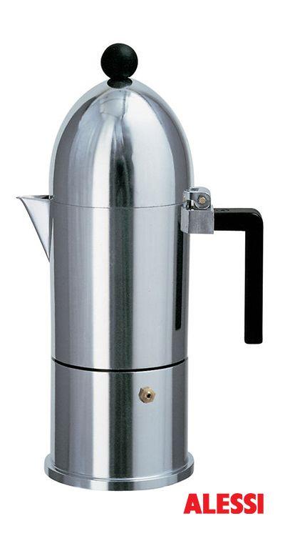 La Cupola - espresso coffee maker, Aldo Rossi, 1988 #alessi #design  #alessibreakfast