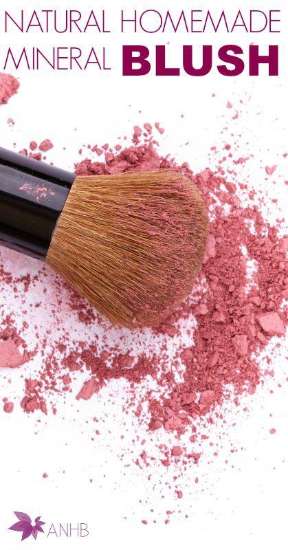 Natural Homemade Mineral Blush #homemade #mineral #Natural #makeup #blush #Naturalbeauty