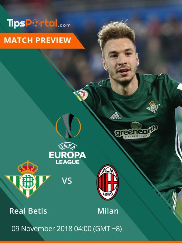 🔥Hot Preview🔥 Real Betis 🆚 AC Milan AC Milan will travel to the