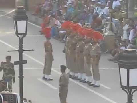 Wagah Border Ceremony, Amritswar