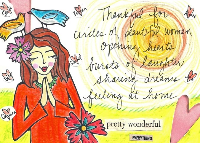 Image result for louise hay gratitude art