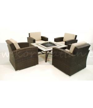 Garden Furniture With Fire Pit 20 best garden furniture images on pinterest | garden furniture
