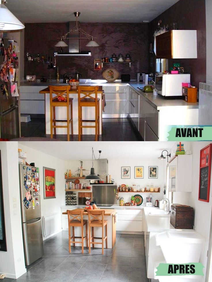 Free trs jolie cuisine blanche touches couleur with home staging cuisine rustique - Home staging cuisine rustique ...