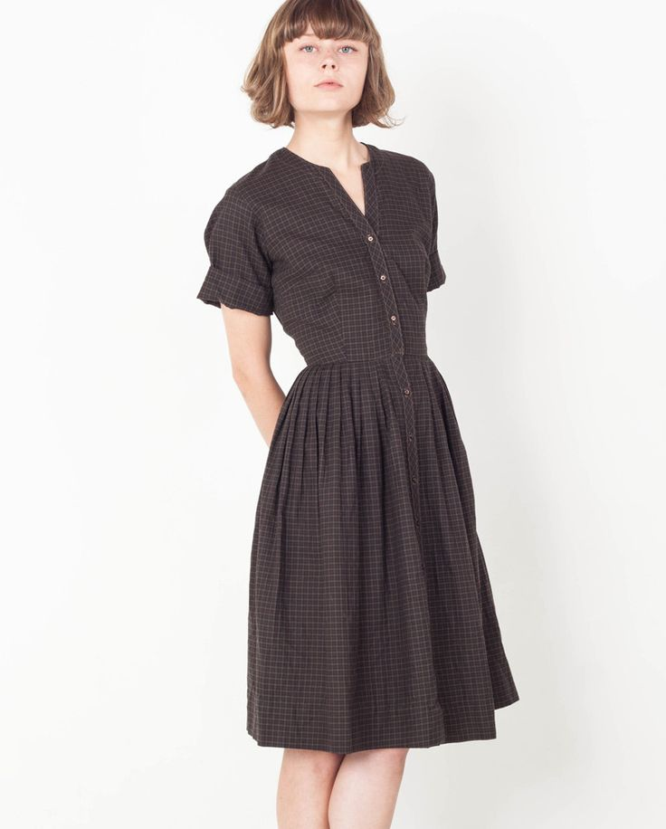 "Portland based clothing company Victory actually called this dress the ""History Class Dress"". That's exactly the vibe I get from it too!  Academia fashion and librarian fashion have a lot of cross over."