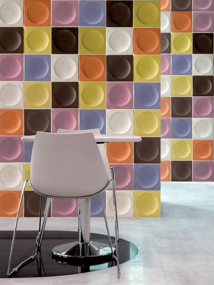 Unicer 'Eclipse' ceramic tiles, perfect for adding character and colour to any interior.