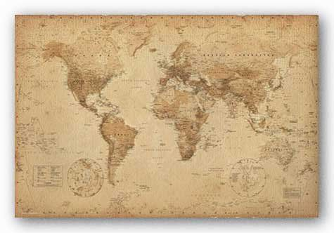 World Map (Vintage Style) Art Poster Print - 24x36 Poster Revolution,http://www.amazon.ca/dp/B002ZPP85A/ref=cm_sw_r_pi_dp_8XIGtb1RG444W72Q