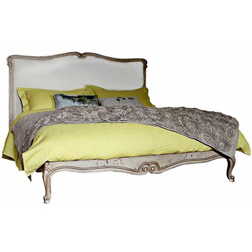 The Barnard French Baroque Style Bed And Headboard Is A Classic Louis XVI  Upholstered Design. We Loved This Bed Becuase It Offered Old World  Eleganceand ...