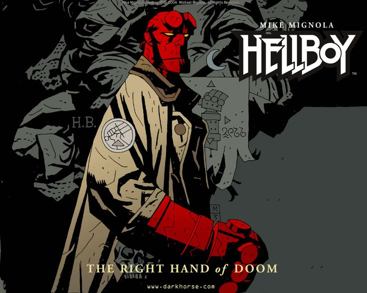 The Many Faces of Mike Mignola's Hellboy   Geek and Sundry