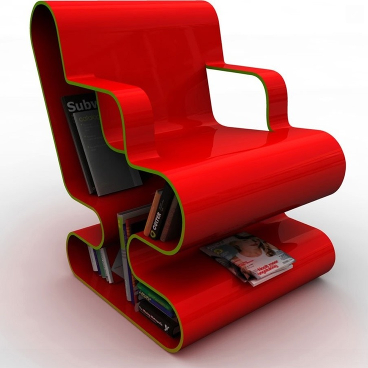 What a funky chair.