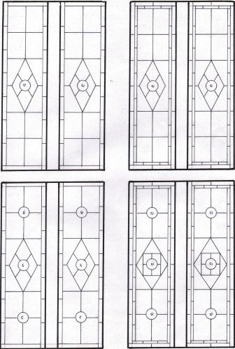 1000 images about painted glass windows on pinterest for Victorian window design