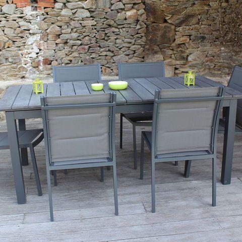 table de jardin promo - bricolage maison et décoration