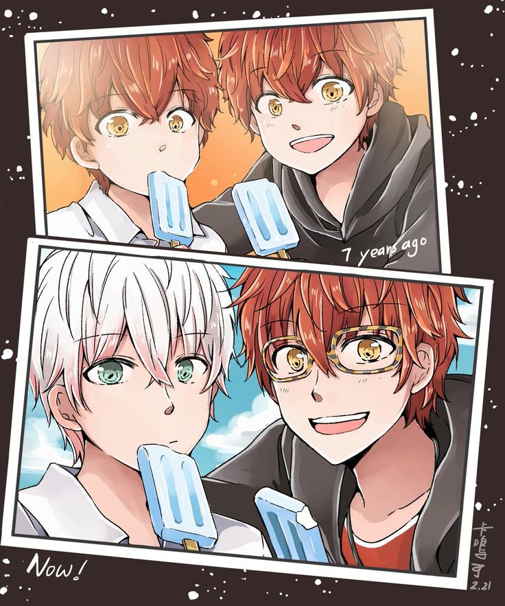 """Silvia on Twitter: """"If I can take pictures of them  #mysticmessenger… """""""
