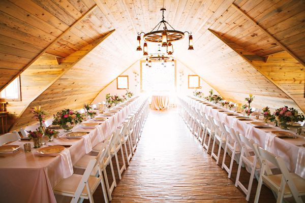 glam romance colorado wedding / http://www.himisspuff.com/rustic-indoor-barn-wedding-reception-ideas/2/
