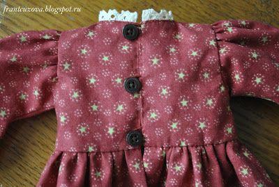 ЧУДЕСА ЖИВУТ СРЕДИ НАС: МК по пошиву платья для кукол