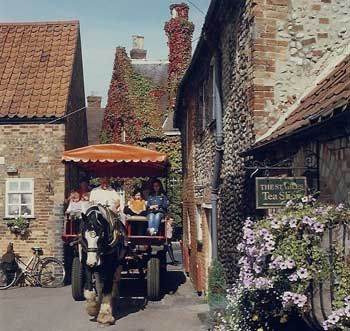 Beautiful Holt in Norfolk, England
