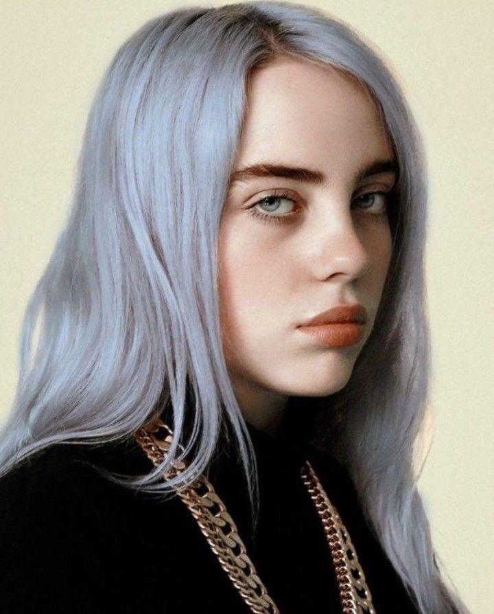 Billieeilish Billie Silver Hair