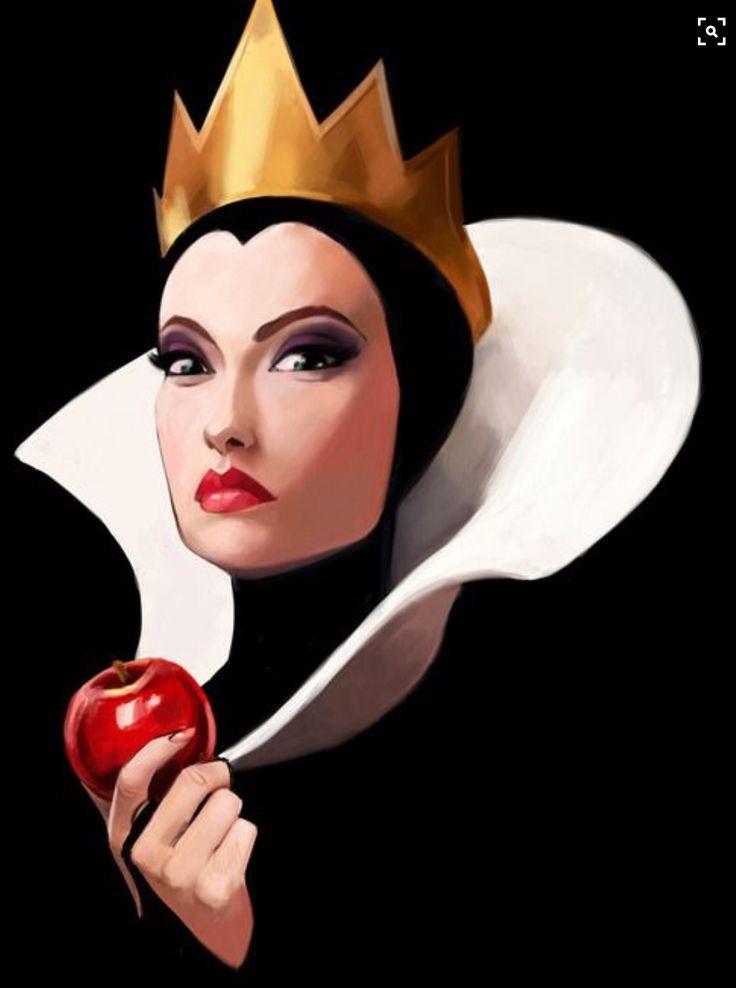 злая королева из белоснежки картинки описания