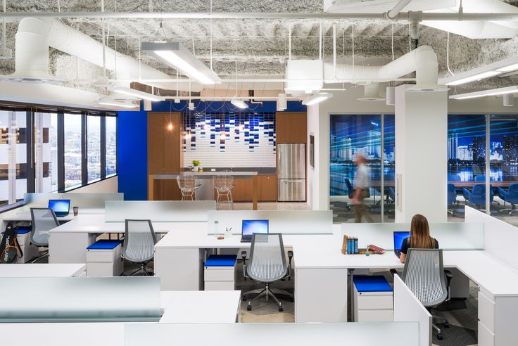 35 Best Interiors Open Office Images On Pinterest Office Spaces Office Designs And Open Office