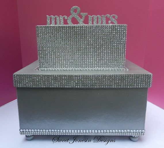 17 Best images about Wedding Box – Large Wedding Card Box