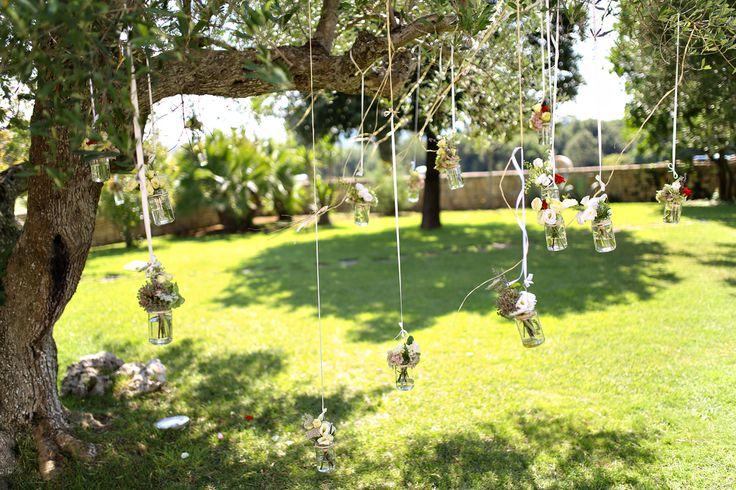Tree decoration for the wedding ceremony / Украшение дерева для символической церемонии