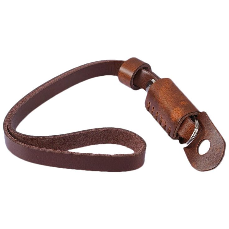 New Brown Leather Camera Hand Wrist Strap for Canon Nikon Olympus Sony ILDC DSLR | eBay