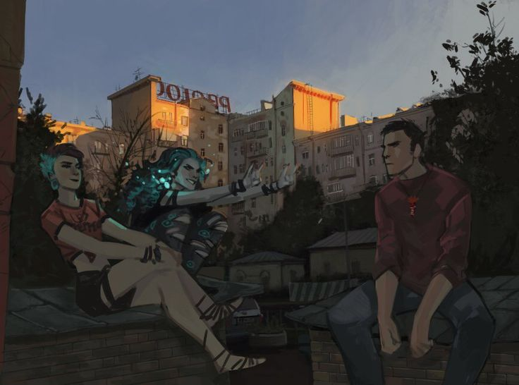 Bubble comics, Phobs, Demonslayer/Бесобой, Яна, Балор и Павел