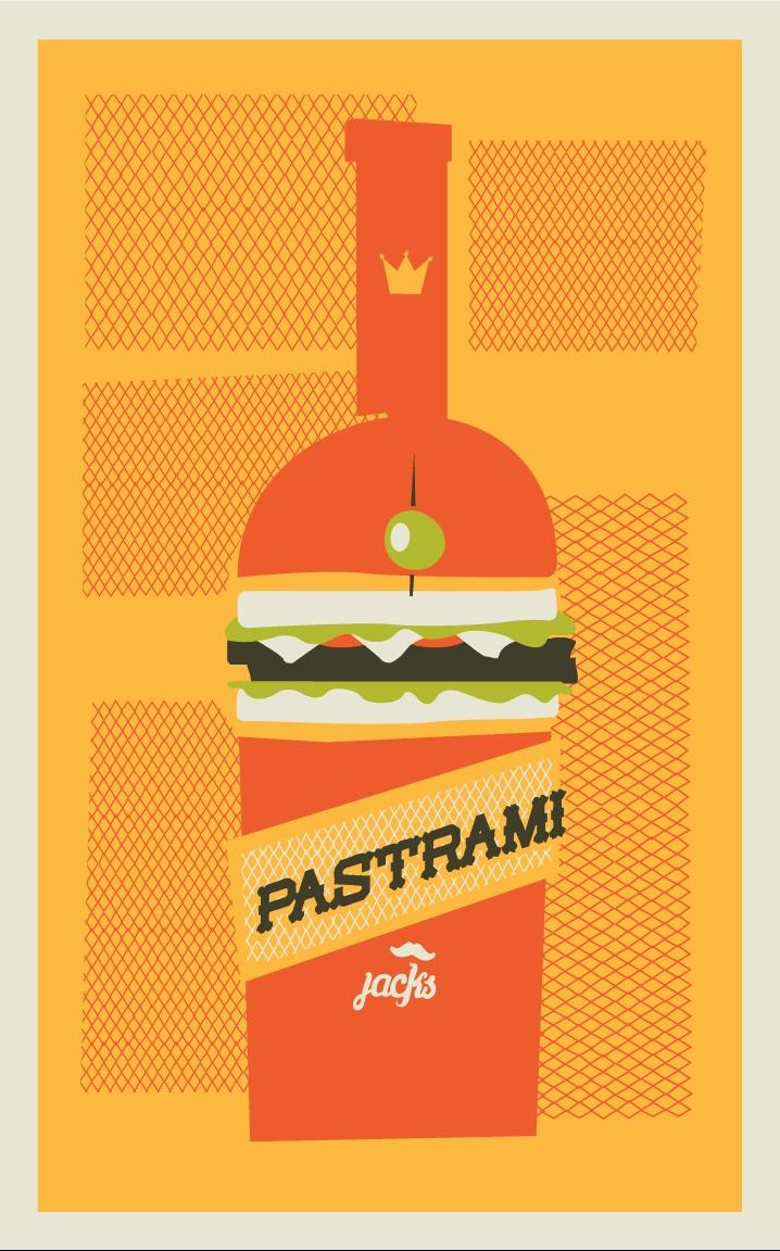 sandwich booze logo!