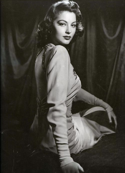 """""""Because I was promoted as a sort of a siren and played all those sexy broads, people made the mistake of thinking I was like that off the screen. They couldn't have been more wrong."""" - Ava Gardner"""