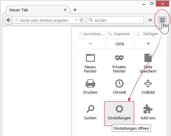 Firefox baut unaufgefordert Verbindungen auf