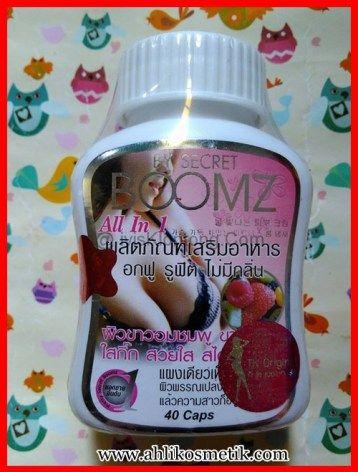 Secret Boomz Original kencangkan dan padatkan payudara
