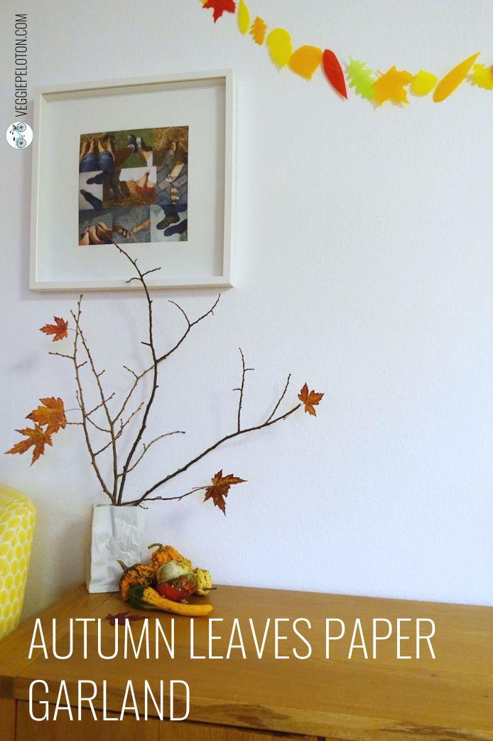 AutumnLeavesPaperGarland