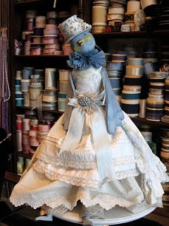 Merry Wishes and Vintage Dreams: Bluebird Making