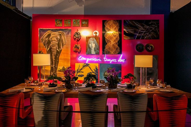 Design Industry Leaders Decorate Tables for DIFFA's Dining by Design at the AD Home Design Show Photos | Architectural Digest