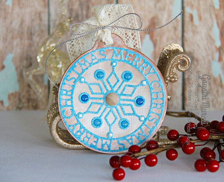 25 Days of Christmas Tags with Tracey - Simon Says Stamp
