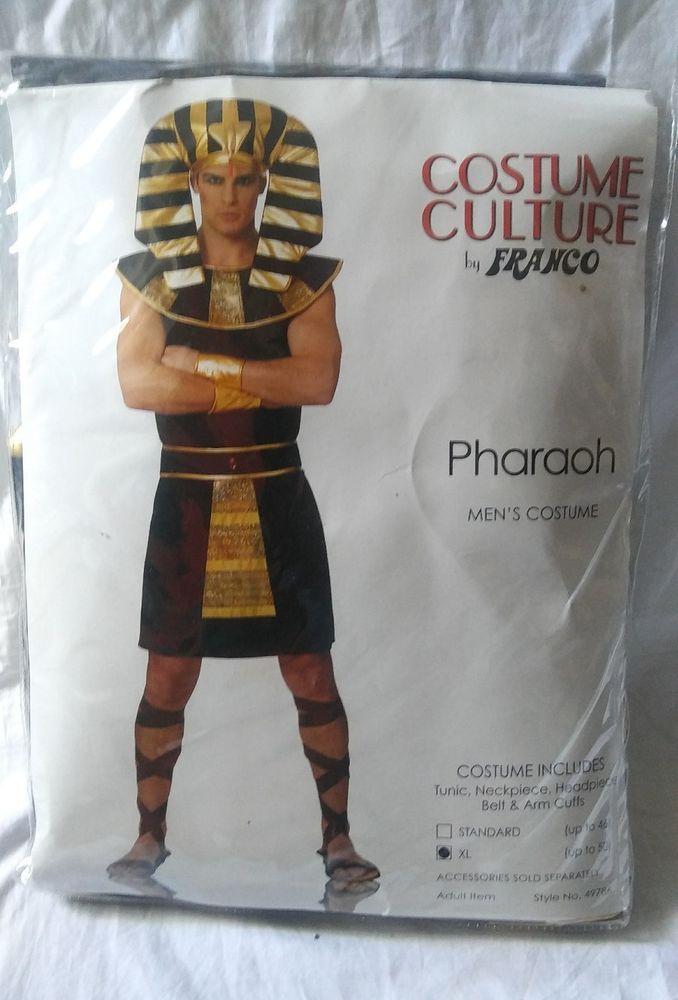 Egyptian Costume Adult Pharoah King Tut Halloween Fancy Dress Cosplay #Franco #Dress #pharoah #costume #kingtut