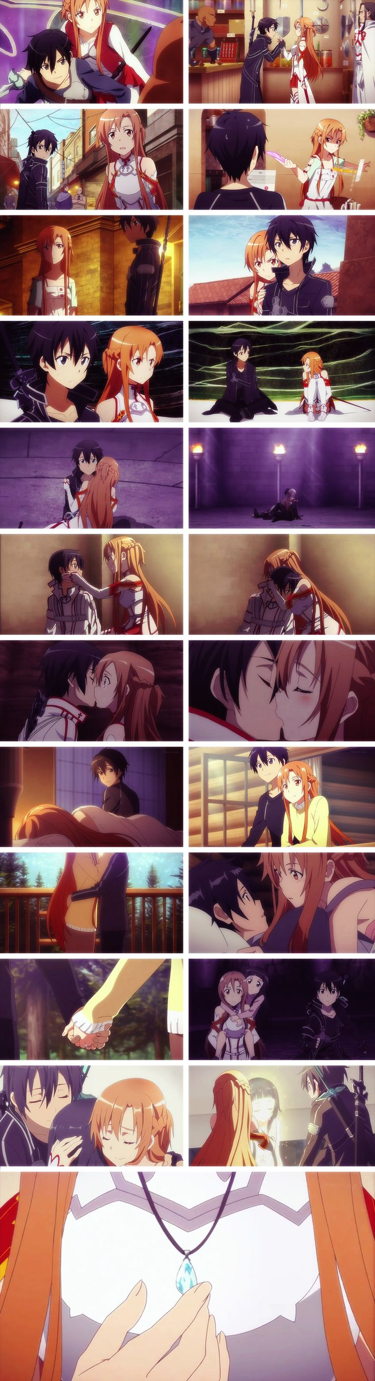 Kirito and Asuna Tribute by AloiIchigo