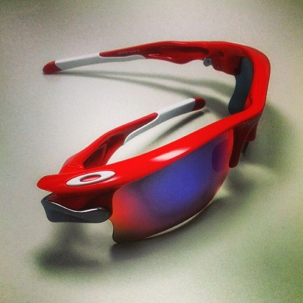 oakley sunglasses cincinnati  oakley fast jacket xl sunglasses, perfect for a cincinnati reds fan!