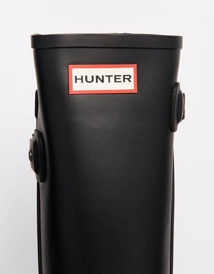 Immagine 4 di Hunter - Original Refined - Stivali da pioggia neri con cinturino posteriore