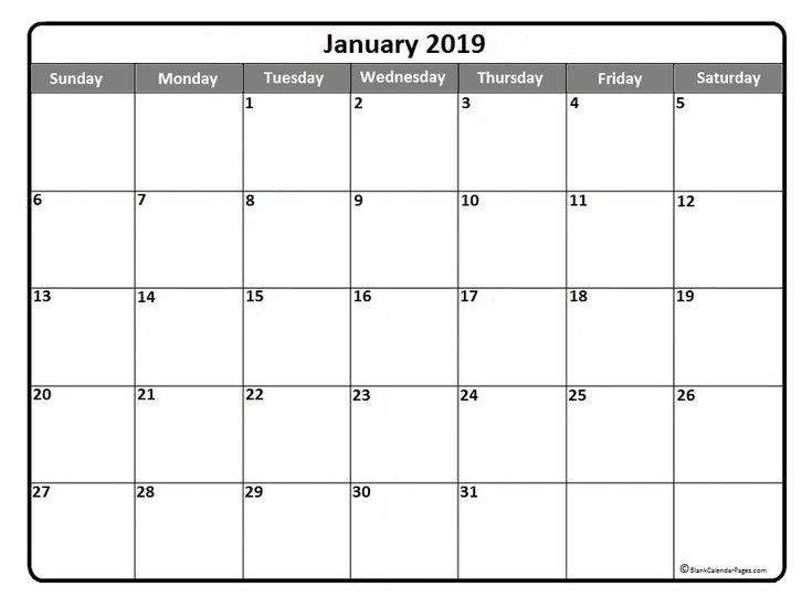 Best 25+ January 2017 calendar template ideas on Pinterest - calendar template excel