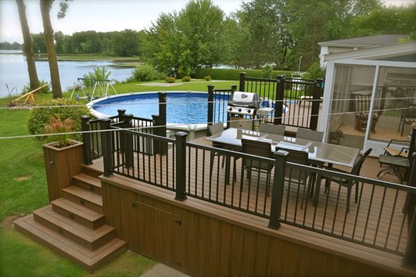 composite decking material,wood deck balcony Norway, wood plastic composite decking suppliers