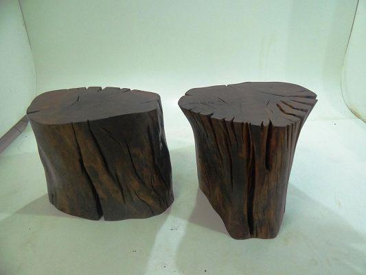 Mesa Lateral de Madeira Black » Mesas de Apoio » Produtos » Residual Móveis - design | sustentabilidade | arte
