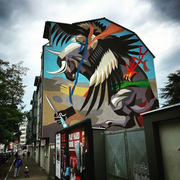 Best All Public Art APA Images On Pinterest Public Art - Beautiful giant murals greek gods pichi avo
