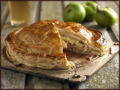 Ham and Apple Pie - Low Carbon Cooking Recipes