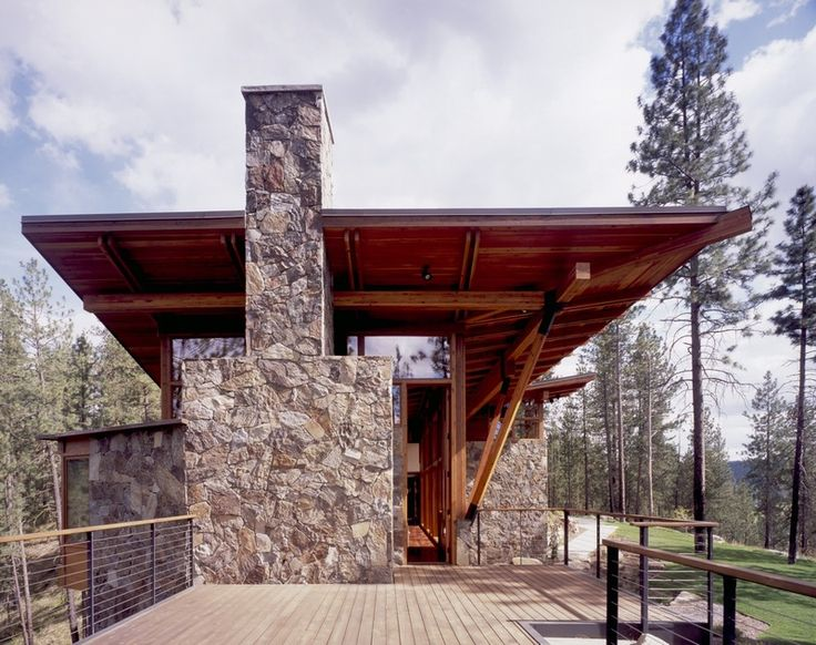 Ridge House  PROJECT ROLES Tom Kundig, Design Principal Steven Rainville LOCATION & YEAR Eastern Washington, 2001