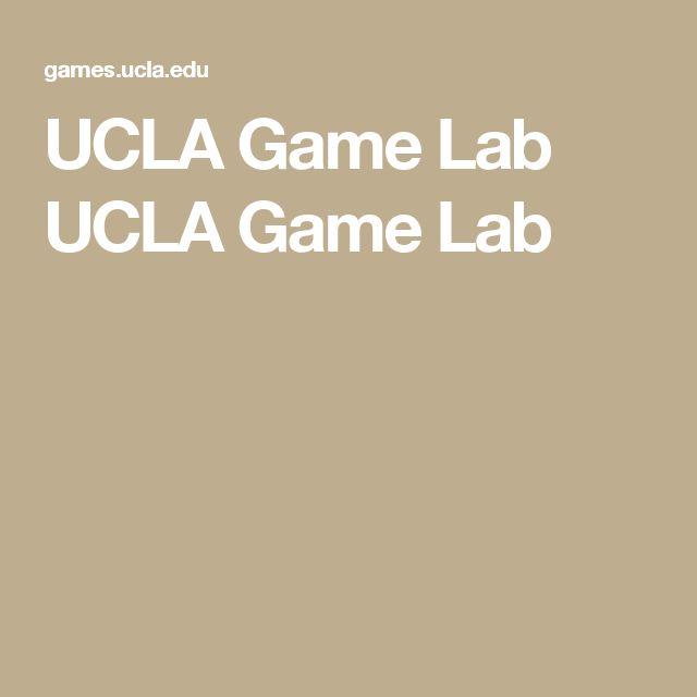 UCLA Game Lab UCLA Game Lab