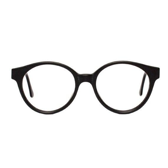 Black Vintage Eyeglasses Sting by MODvintageshop
