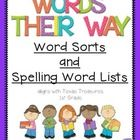 This 140 page pack contains Word Sorts and Spelling Word Lists that I have created for my first grade classroom. The sound patterns are follow the...