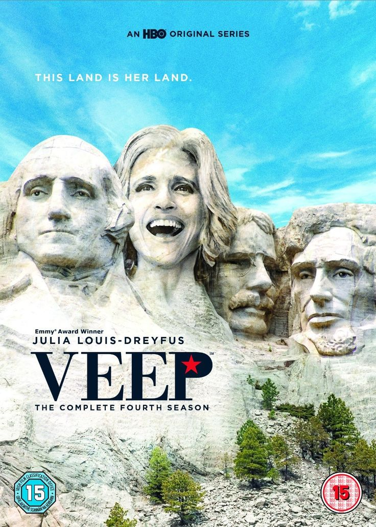 """Veep: Season 4 (2015) created by Armando Iannucci, starring Julia Louis-Dreyfus, Anna Chlumsky and Tony Hale. """"Centers on former Senator Selina Meyer who finds being Vice President of the United States is nothing like she expected and everything everyone ever warned about."""""""